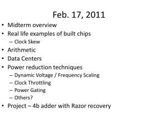 Feb. 17, 2011