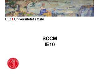 SCCM IE10