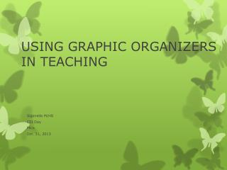 USING GRAPHIC ORGANIZERS IN TEACHING