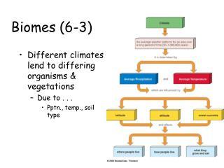 Biomes 6-3