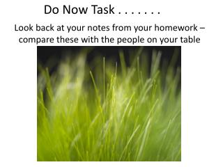 Do Now Task . . . . . . .