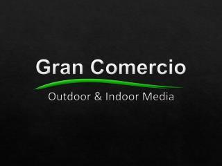Pantallas gigantes con tecnología LED ubicadas en las principales avenidas de Quito, y Guayaquil.