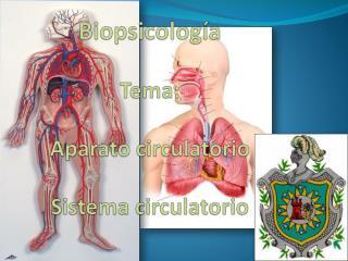 Biopsicología Tema: Aparato circulatorio Sistema circulatorio