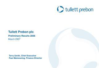 Tullett Prebon plc