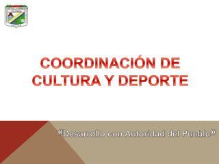 « Desarrollo con Autoridad del Pueblo »