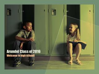 Arundel Class of 2016