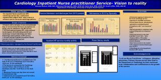 Cardiology Inpatient Nurse practitioner Service- Vision to reality