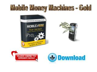 Mobile Money Machines - Gold Review
