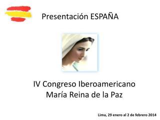 Presentaci�n ESPA�A