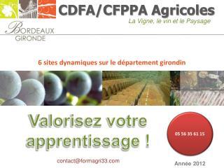 CDFA/CFPPA Agricoles