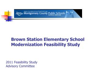2011 Feasibility Study  Advisory Committee