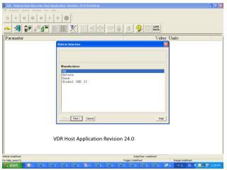 VDR Host Application Revision 24.0
