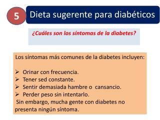 ¿ Cuáles son los síntomas de la diabetes?
