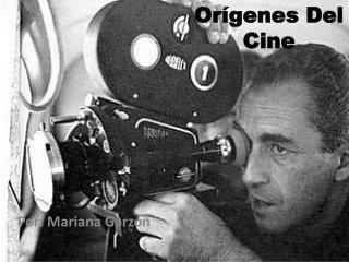 Orígenes Del Cine