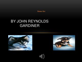 By john  reynolds gardiner