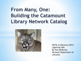 From Many, One: Building the Catamount Library Network Catalog