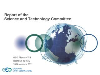 Report of the Science and Technology Committee