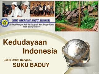 Kedudayaan  Indonesia