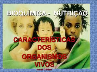 BIOQUÍMICA -  NUTRIÇÃO
