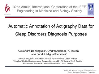 Automatic Annotation of Actigraphy Data for Sleep Disorders Diagnosis Purposes