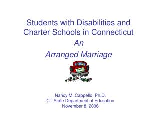 Students with Disabilities and Charter Schools in Connecticut