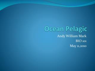 Ocean Pelagic