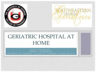 Geriatric Hospital at home