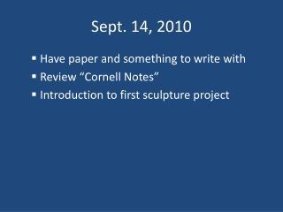 Sept. 14, 2010
