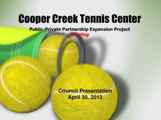 Cooper Creek Tennis Center