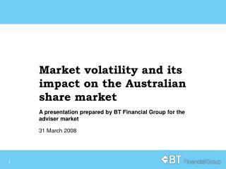 Rising market volatility has seen the Australian share market fall nearly 16 so far this year