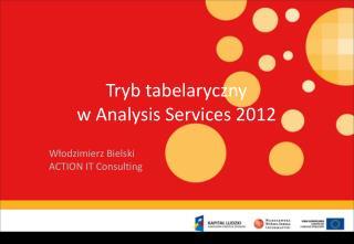 Tryb tabelaryczny  w Analysis Services 2012