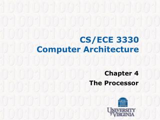 CS/ECE 3330 Computer Architecture