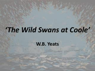 'The Wild Swans at  Coole '