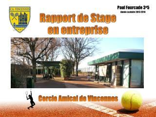 Rapport de Stage en entreprise