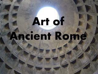 Art of  Ancient Rome