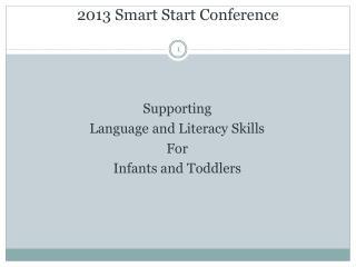 2013 Smart Start Conference