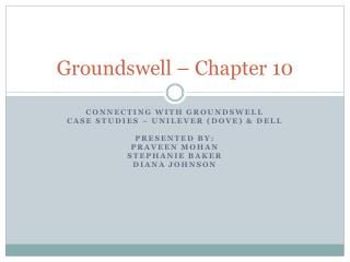Groundswell – Chapter 10