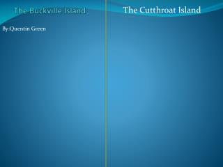 The  B uckville  Island