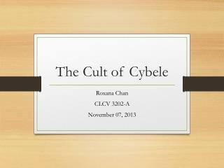 The Cult of Cybele