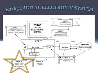 E3165 DIGITAL ELECTRONIC SYSTEM