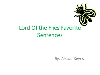 Lord Of the Flies Favorite Sentences