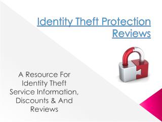 Identity Theft Protection Reviews