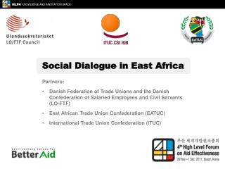 Social Dialogue in East Africa