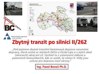 Zbytný tranzit po silnici II/262