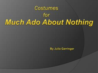 Costumes for