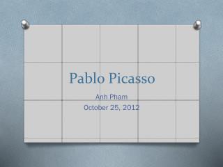 Pablo P icasso