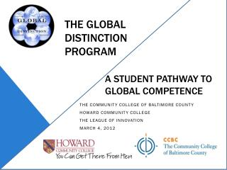The Global Distinction  Program