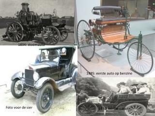 1834: stoomauto