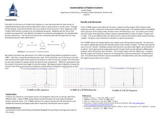 Isomerization of Xylene Isomers Austin Power