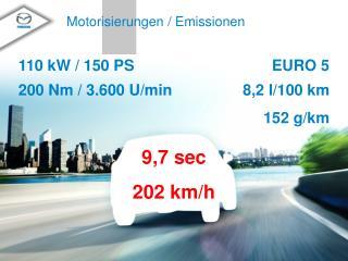 Motorisierungen / Emissionen
